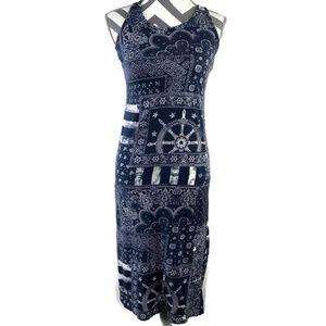 POLO Ralph Lauren Maxi Tank Dress Side Slit